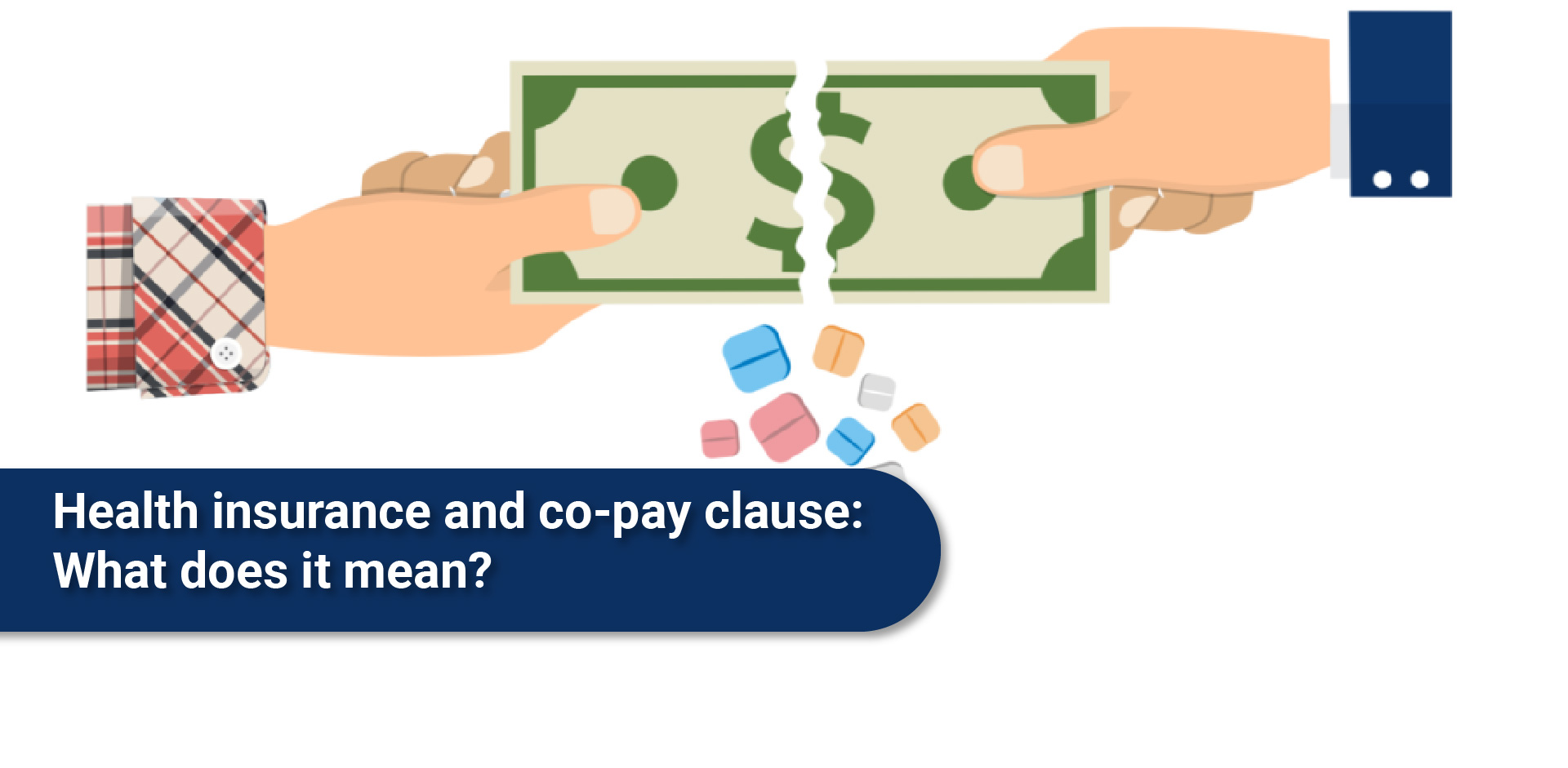 Health insurance and co-pay clause: What does it mean?