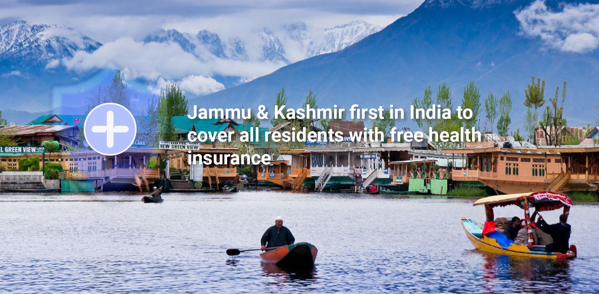 Jammu & Kashmir first in India to cover all residents with free health insurance